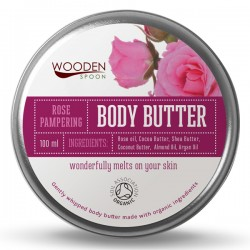 Био Масло за Тяло Rose pampering, Wooden Spoon, 100 мл.